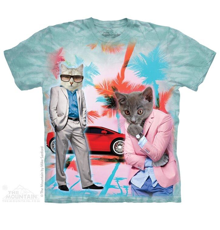 Titkosügynök macskák póló