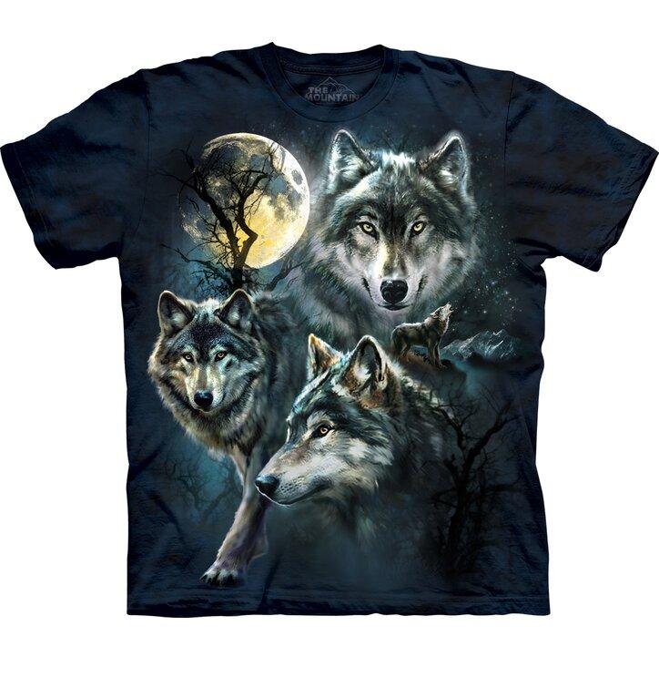 Tričko Mesačné vlky – detské
