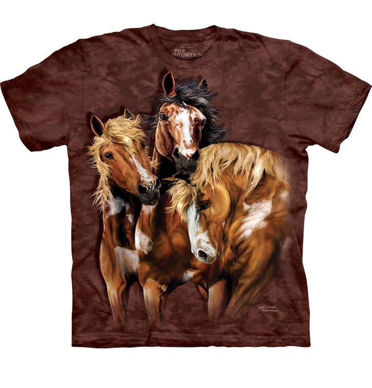 Tričko Najdi 8 koní - dětské
