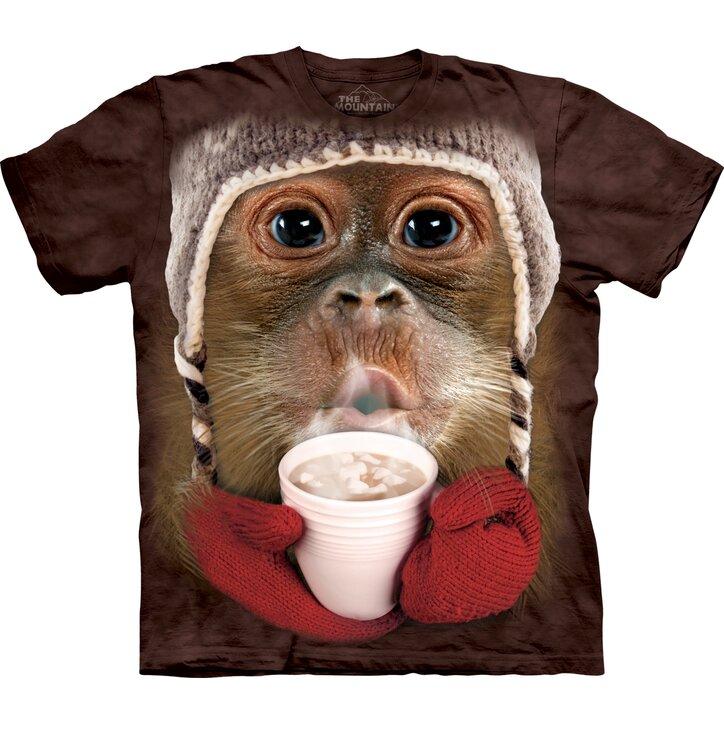 Tričko Orangutan s kakaom