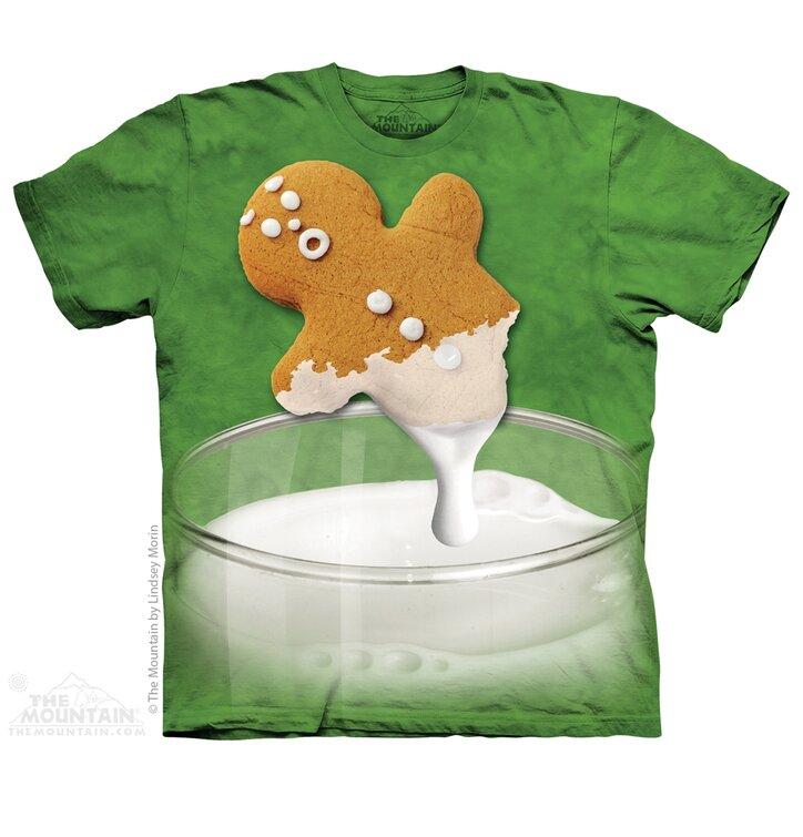 T-Shirt Pfeffernuss in Milch