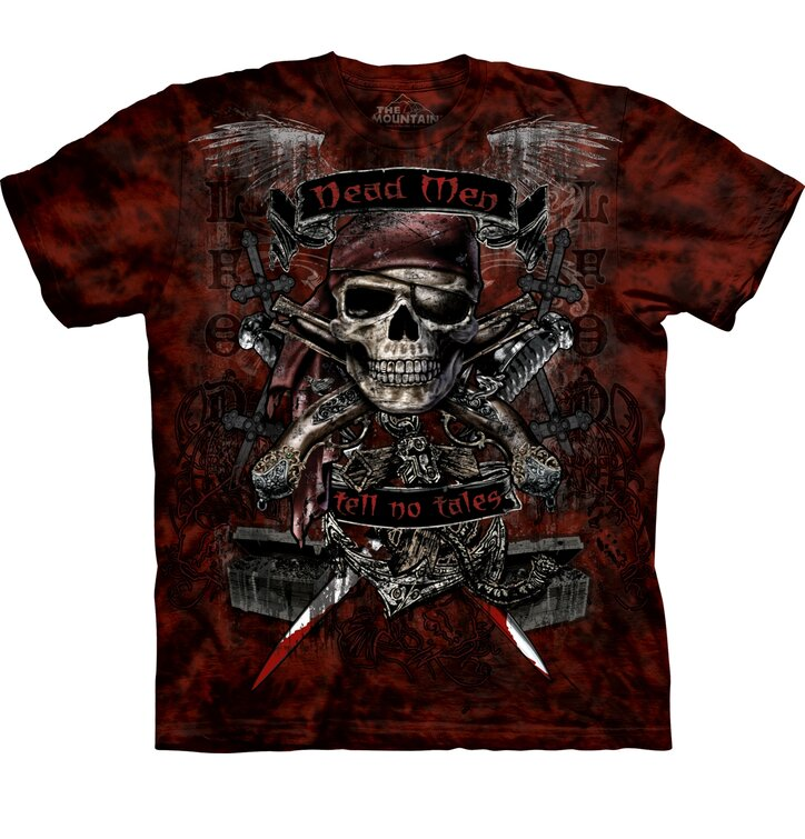 Tričko Pirátská lebka - dětské