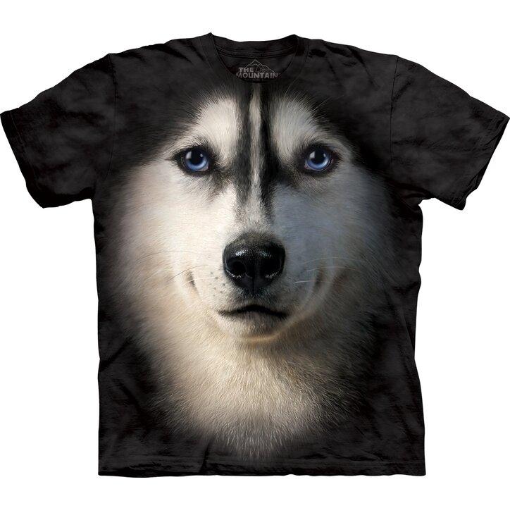 Tričko Sibiřský husky