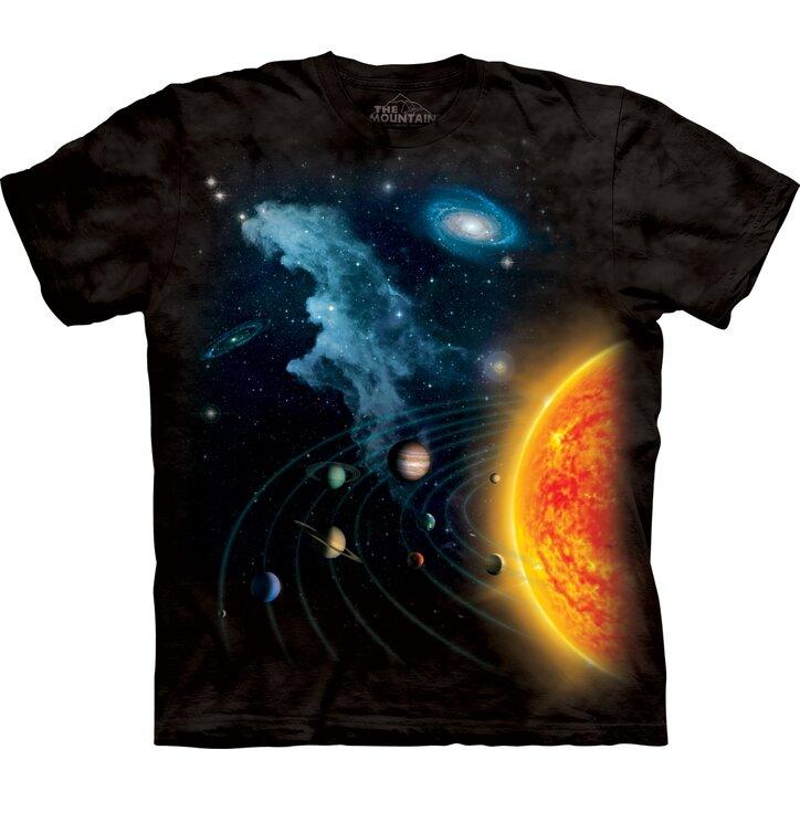 Tričko Sluneční soustava - dětské