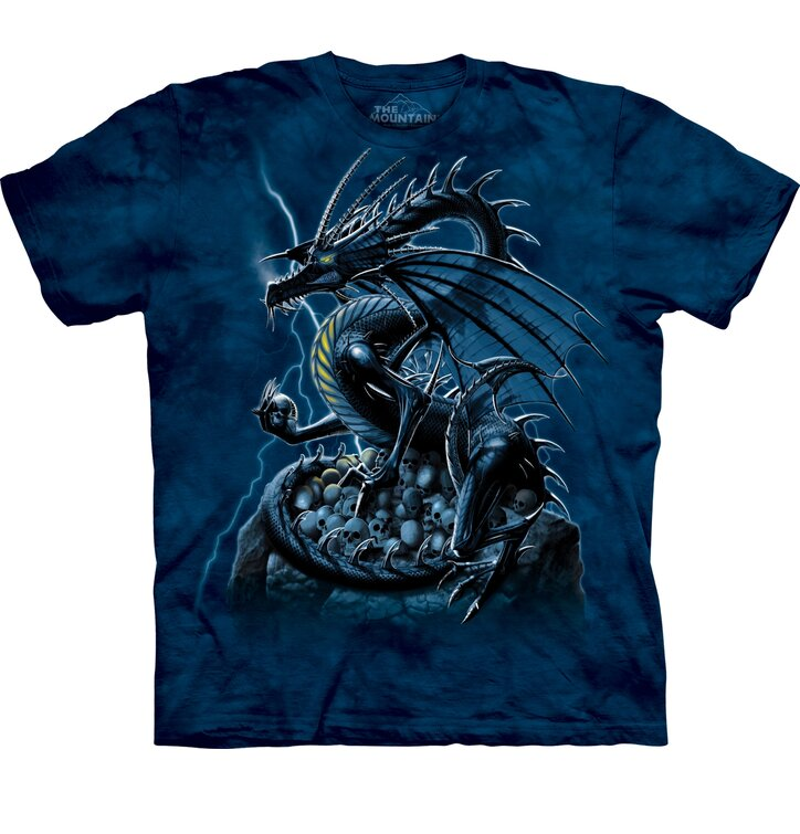 Tričko Strážny drak lebiek - detské