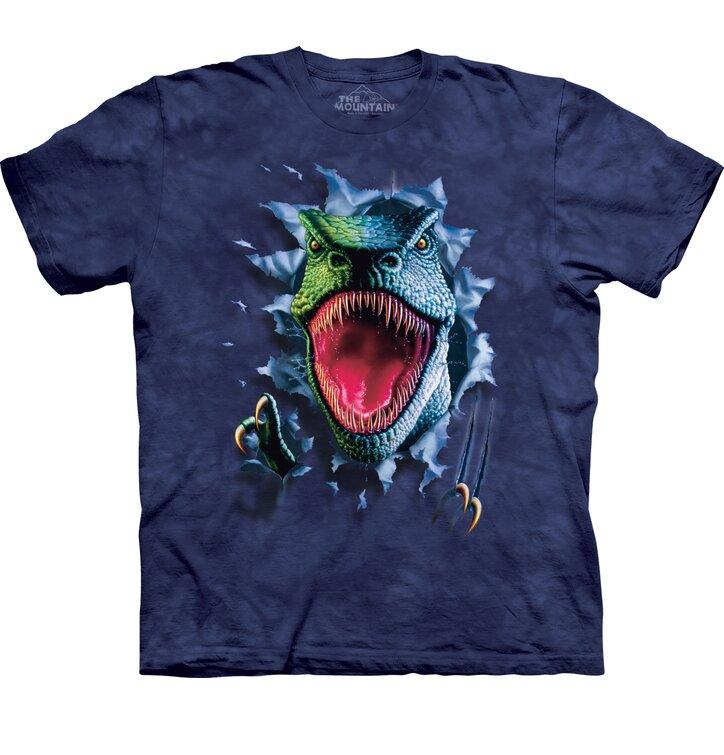 Tričko Zuřivý T-Rex - dětské