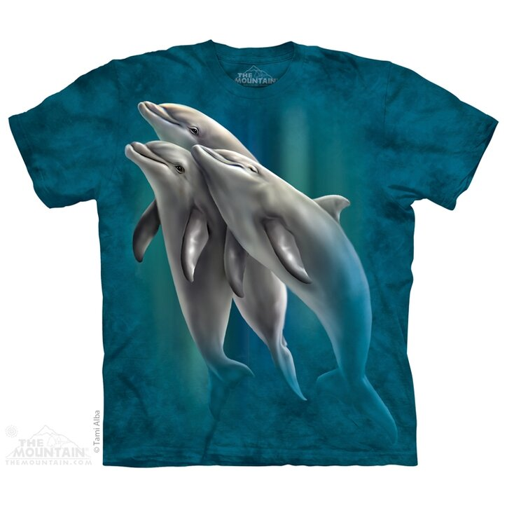 Tričko Tři delfíni