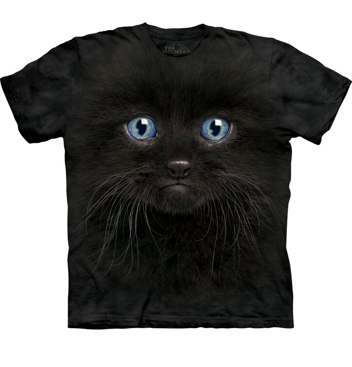 Black Kitten Face Child