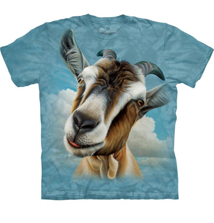 Tričko Obličej kozy - dětské