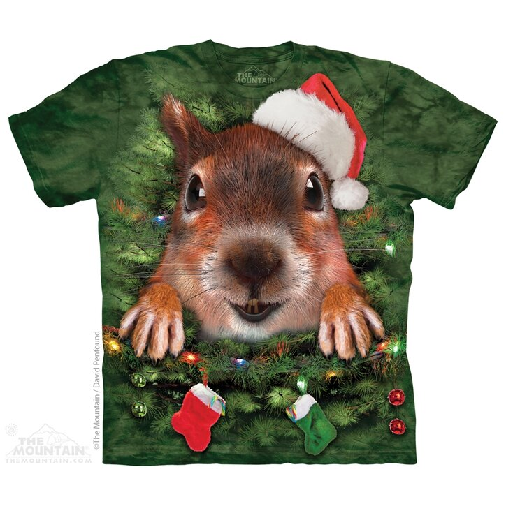 Xmas Tree Squirrel Adult Med