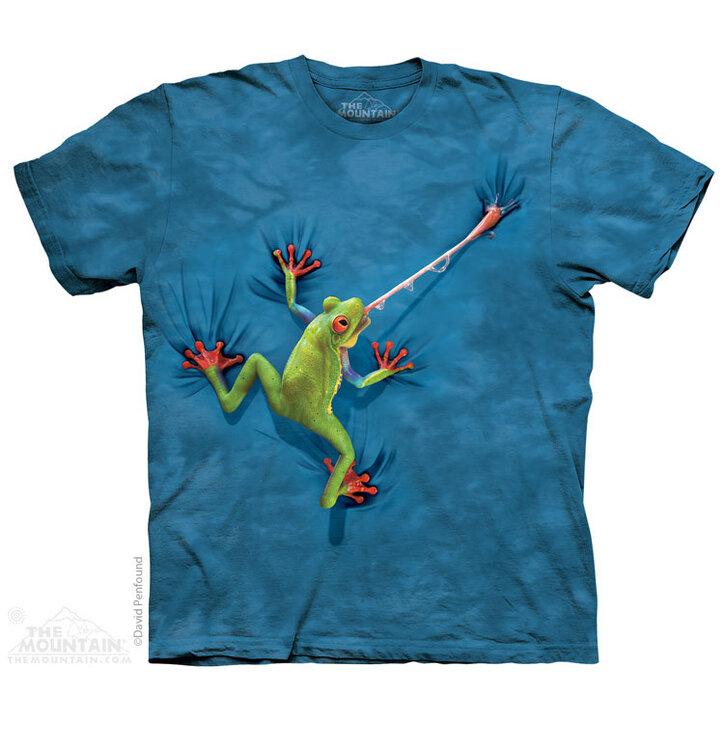 Tričko Žaba s vyplazeným jazykom - detské