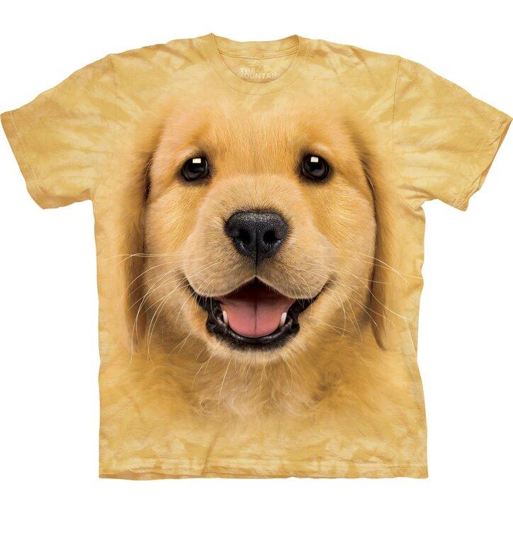 Golden Retriever Puppy Child