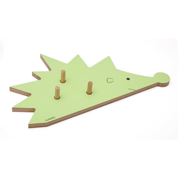 Věšák ježek FOGO - zelený