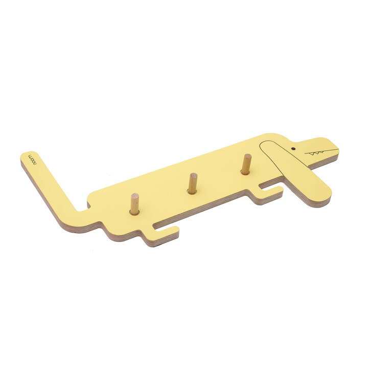 Coat Rack Doggie PEDRO - yellow