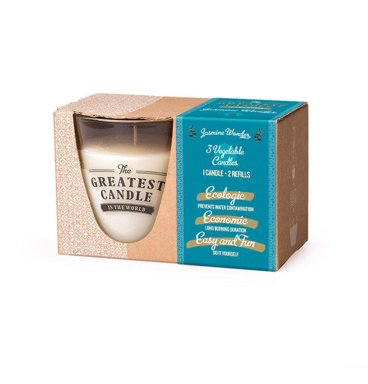 Set na výrobu sviečky Jazmín