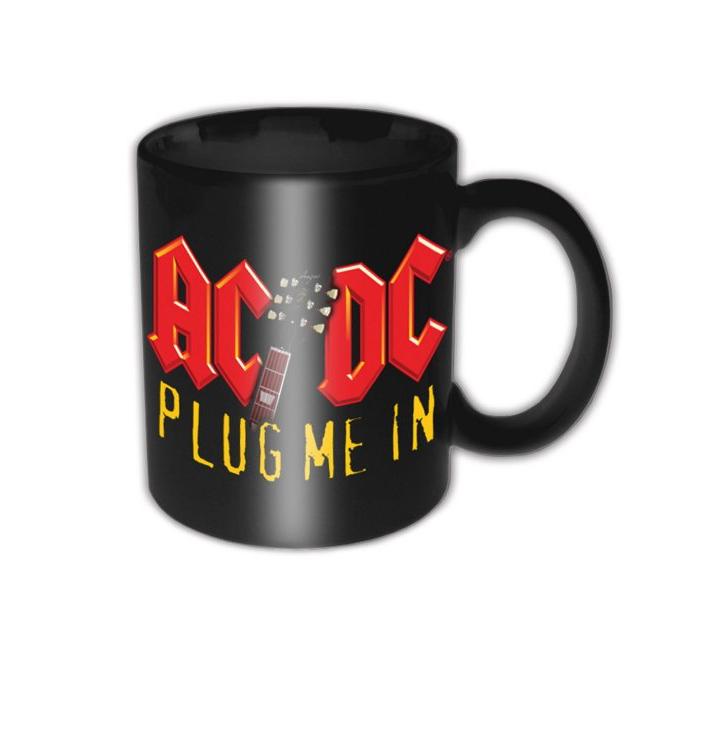 Keramický hrnček AC/DC Plug Me In