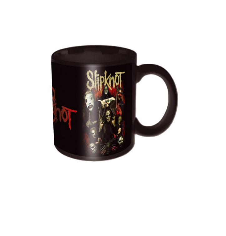 Keramický hrníček Slipknot Come Play Dying Black