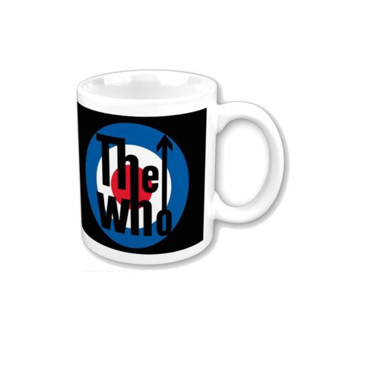 Keramický hrnček The Who Target Logo