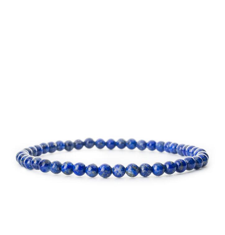 Náramok Lapis lazuli malé guličky - kameň priateľstva