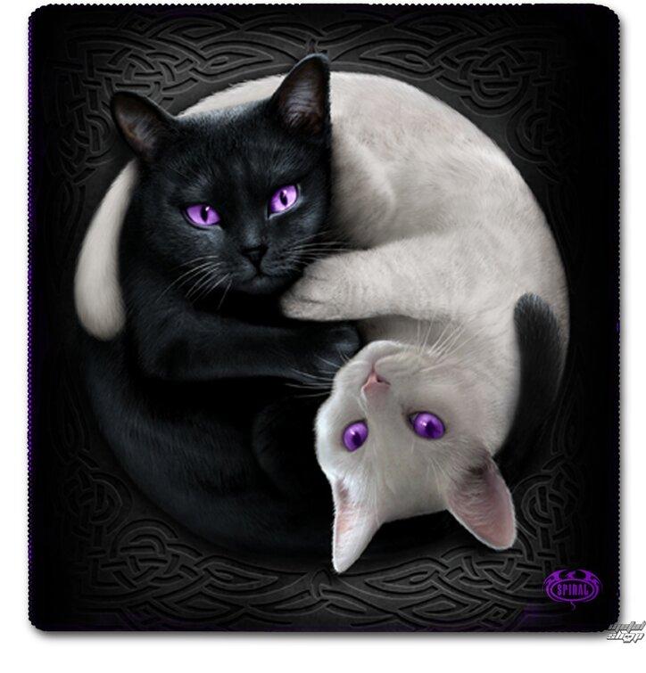 Véres Jin Jang macskák motívummal