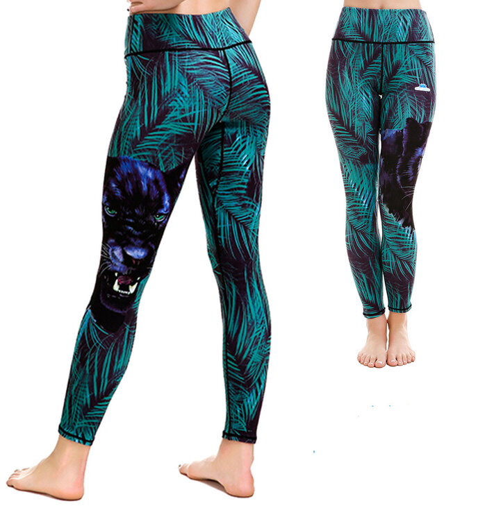 Ladies' Sport Elastic Leggings Puma in Virgin Forest