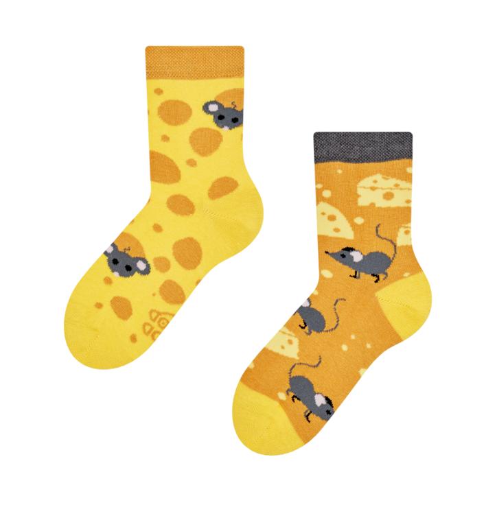 Good Mood Kids Socks Cheese