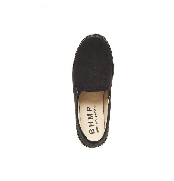 Hľadáte originálny a nezvyčajný darček  Obdarovaného zaručene prekvapí  Pánske vegánske slip-on topánky čierne 3166456fbaf