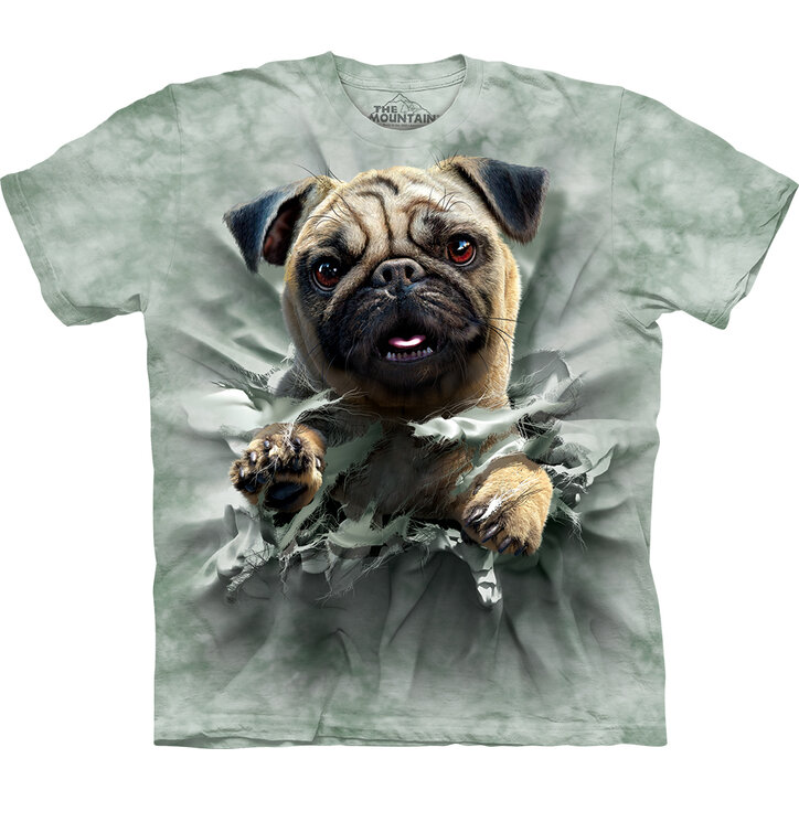 T-shirt Pug Breakthru