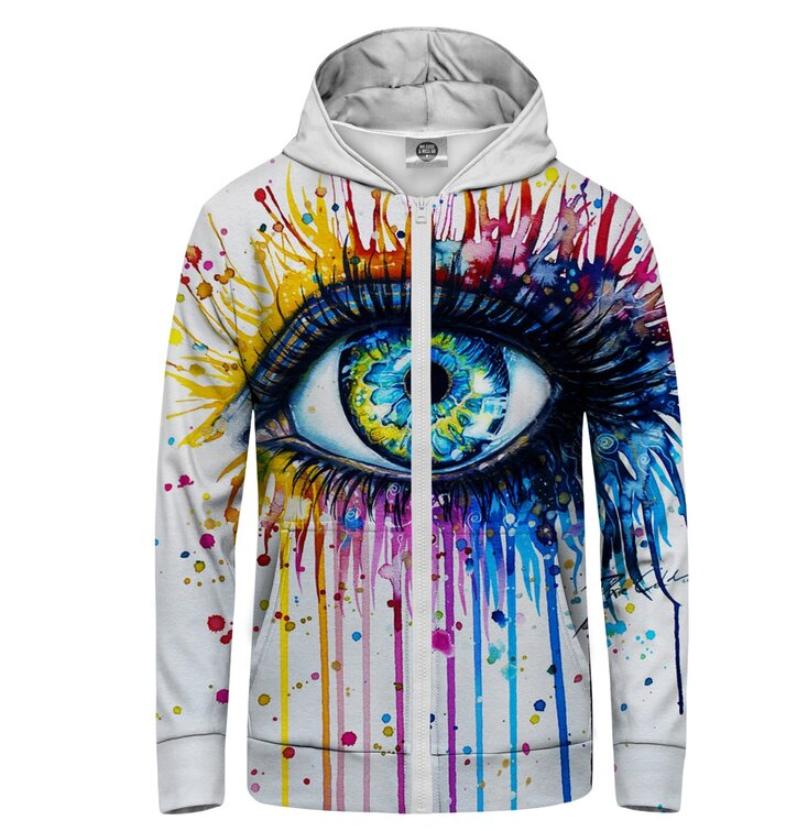 Zip Hoodie Colours in Eye