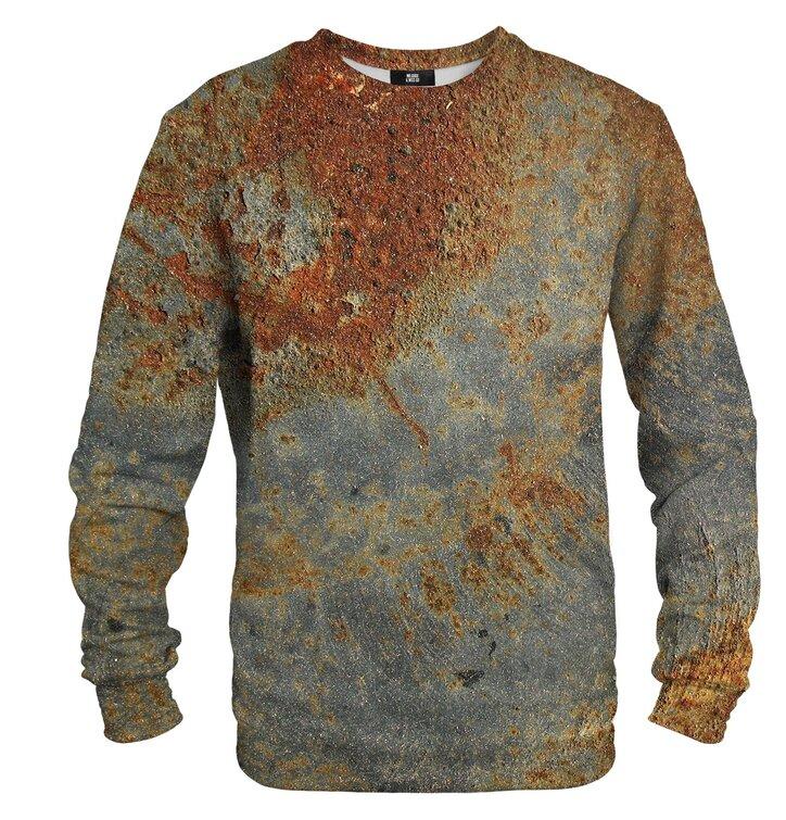 Sweatshirt ohne Kapuze Rost