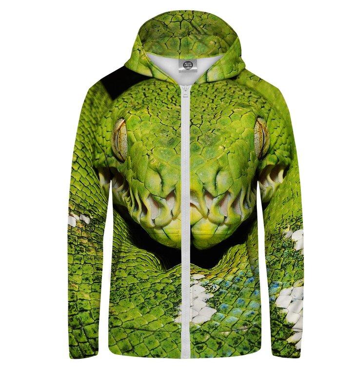 Суичър с цип Зелена змия