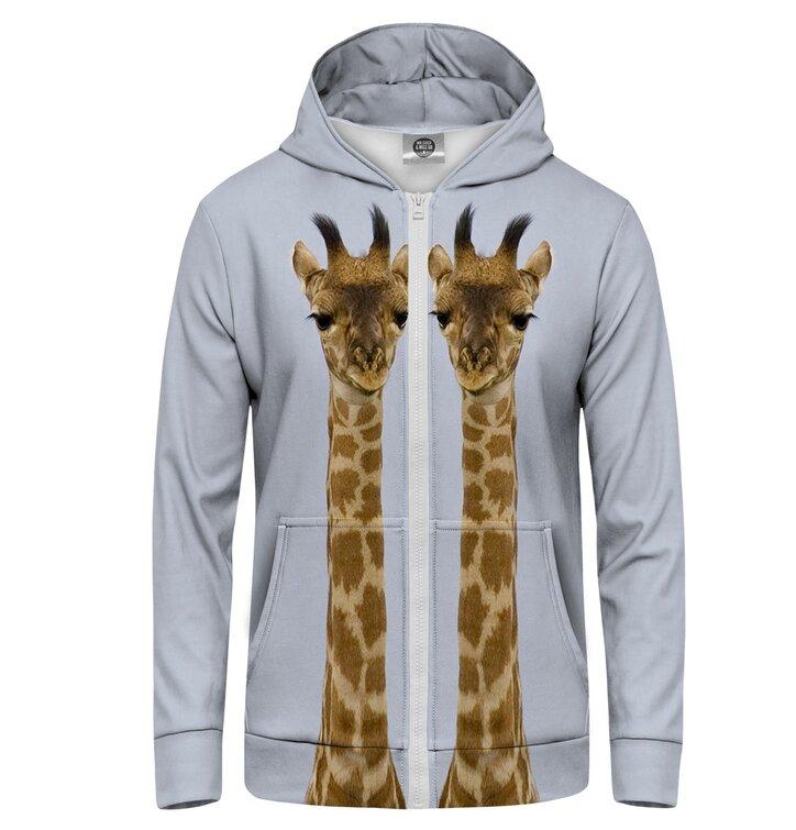 Суичър с цип Жирафи