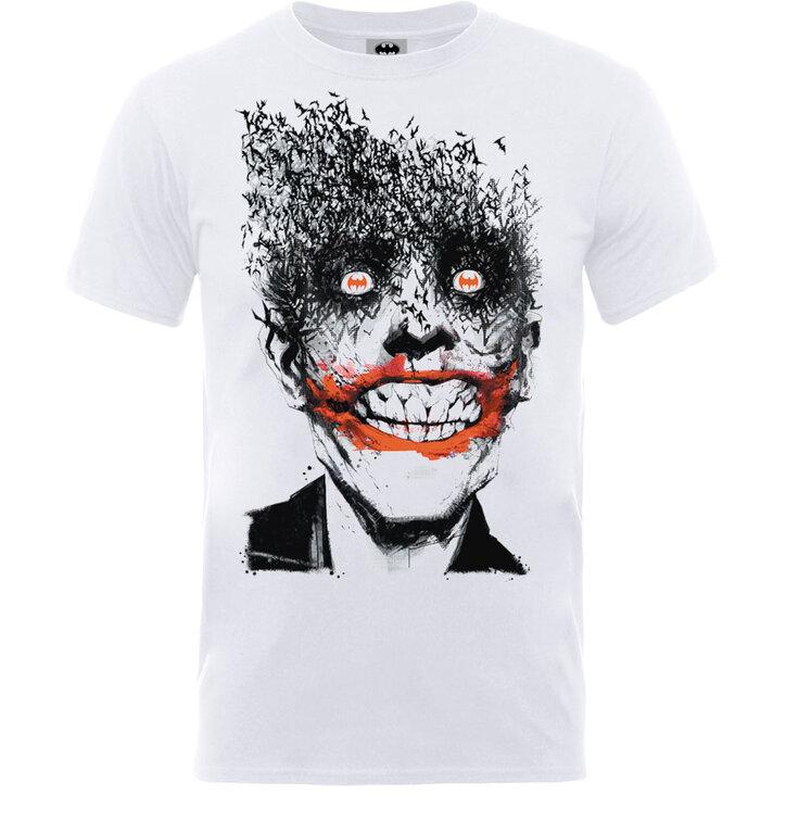 Tričko DC Comics Batman Joker Face of Bats