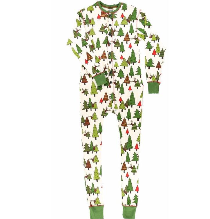 Pyžamový overal Rudolf s červeným nosom