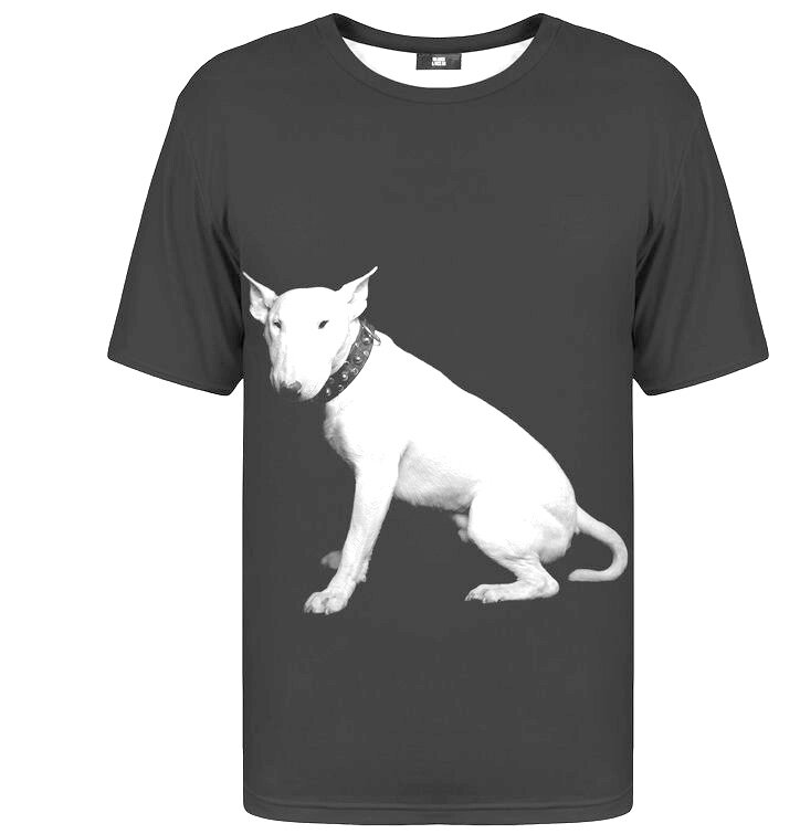 T-shirt with Short Sleeve Bull Terrier