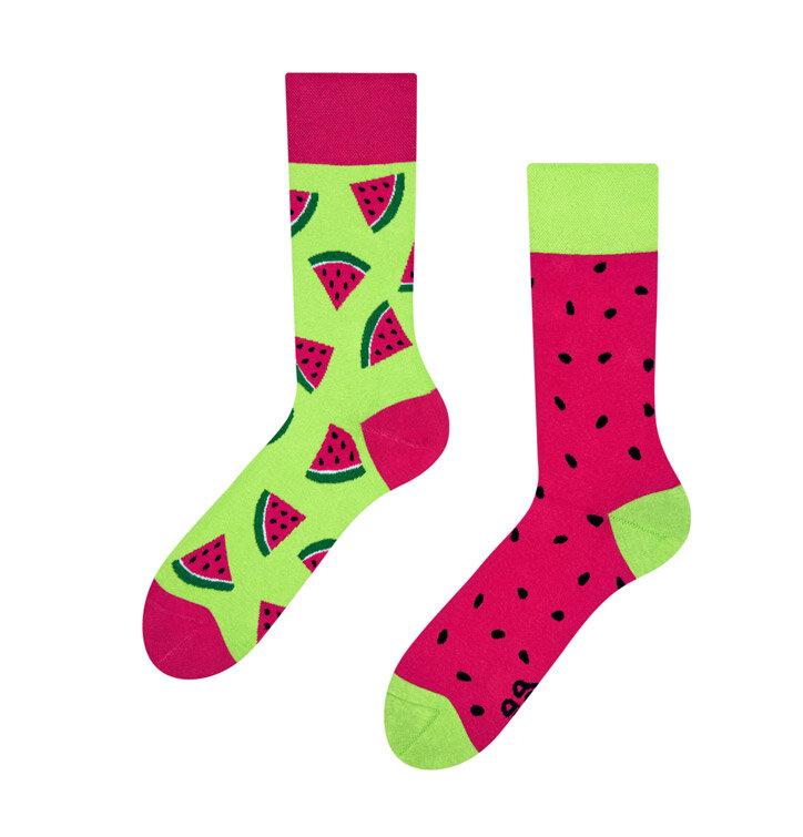 Veselé ponožky Červený melón