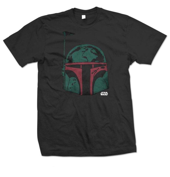 Tričko Star Wars Boba Head