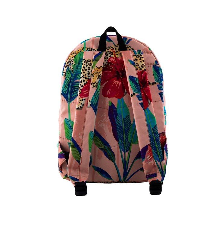 e5ea9e01b4274 Suchen Sie ein originelles und außergewöhliches Geschenk  überrascht den  Beschenkten sicher Rucksack Gepard hinter Blumen