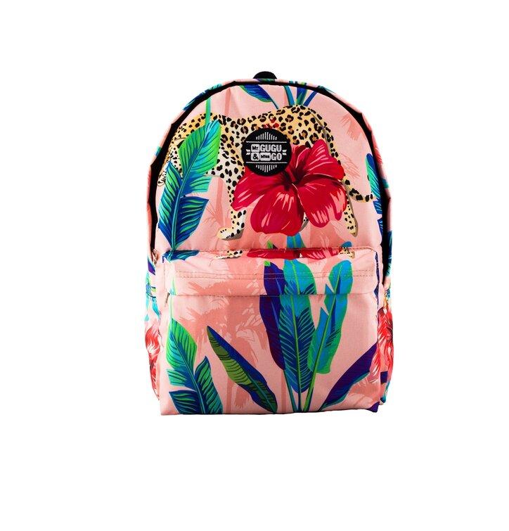 477b0a0457a3e Geschenktipp Rucksack Gepard hinter Blumen