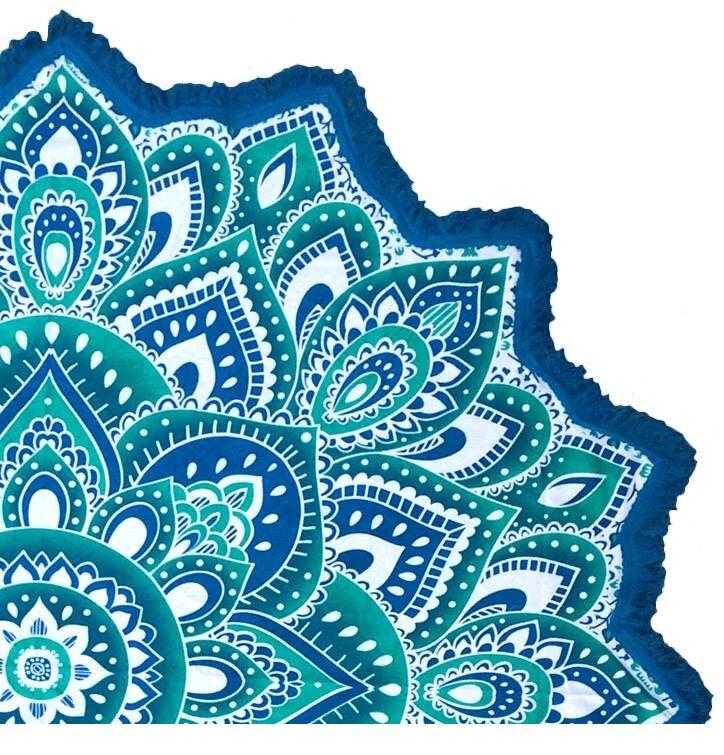 MandalaBlanket Turquoise