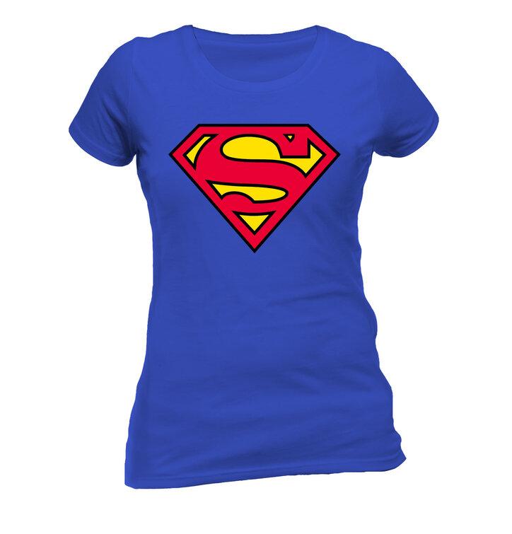 8c37fdfd8e29 Sleva Dámské triko Superman Logo