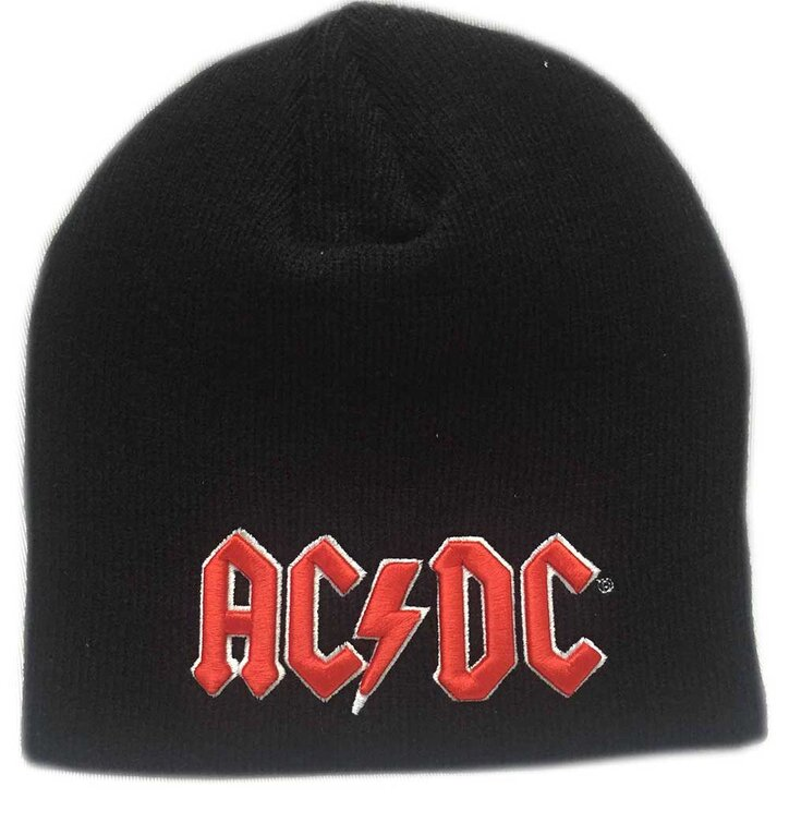 Beani Acdc Red 3d Logo Dedoles