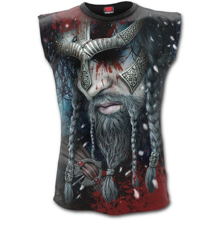 0005968f5f Férfi ujjatlan póló Viking Hős | Dedoles