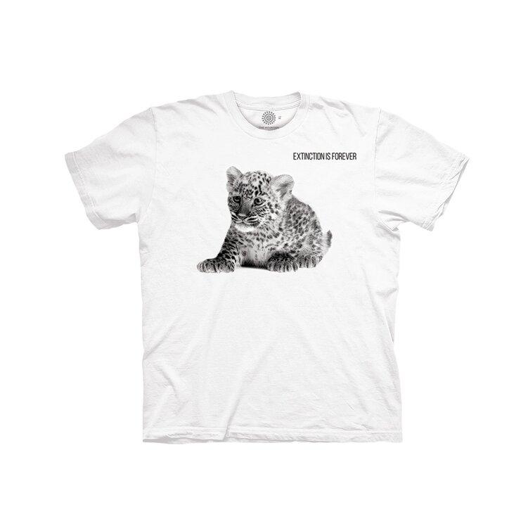 T-Shirt für Baby Bedrohtes Leopard Jungtier