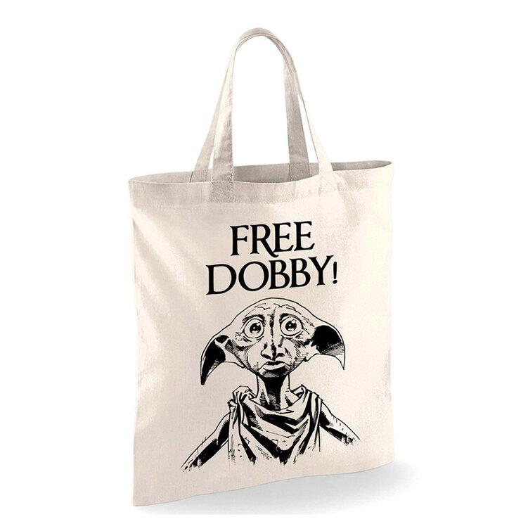 Plátená taška Harry Potter Dobby je voľný