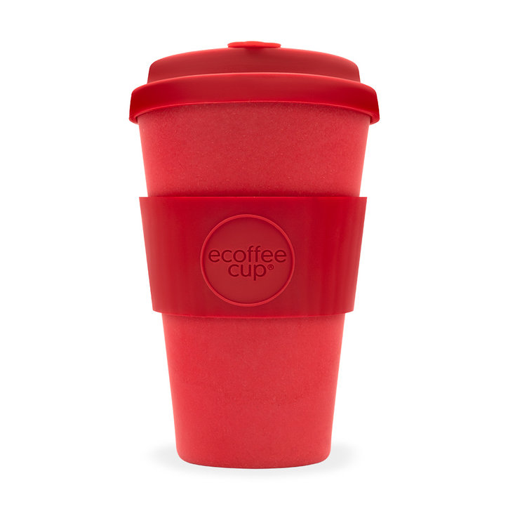 Bambus Ecoffee Cup Rot Dedoles