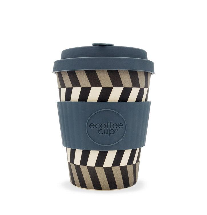 Bambusový ecoffee cup Čiary