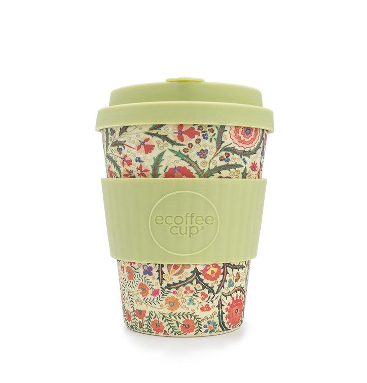 Bambusový ecoffee cup Polní květy