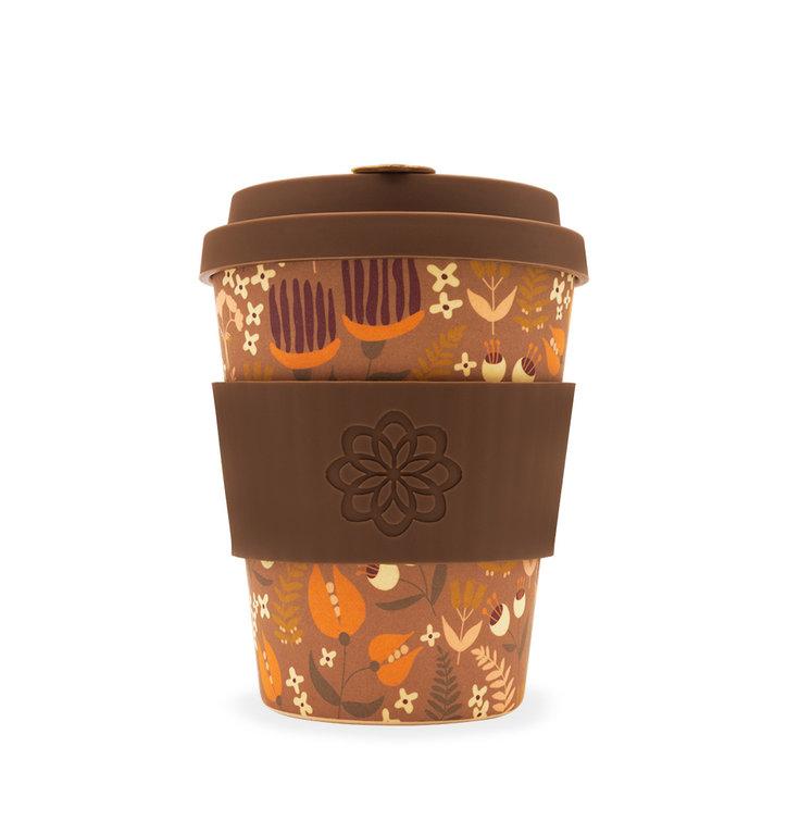 Bambusový ecoffee cup Kvety