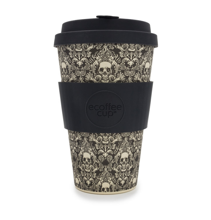 Bambusový ecoffee cup Lebky